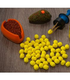 Dumbells Fluo Wafters 8mm Ananas