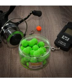 Meus Kulki Fluo Wafters Green Shot 18mm