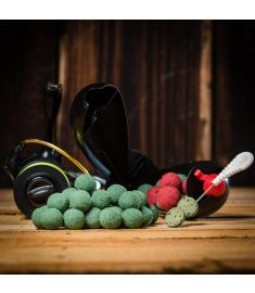 Meus Soft Kulki zanętowe Challange Green shot 20mm