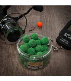 Kulki hakowe tonące Spectrum 18mm Prażona konopia & kawior