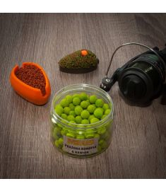 Kulki hakowe tonące Spectrum 9mm Prażona konopia & kawior