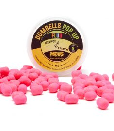 Dumbells Fluo Pop Up 8mm Miód & Malina