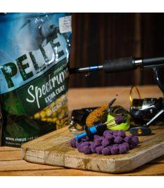 Meus Pellet Spectrum EXTRA POWŁOKA Śliwka & łosoś 12mm LUZ