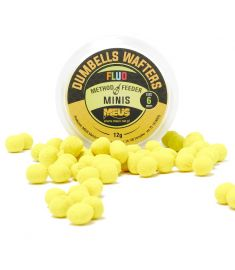 Dumbells Fluo Wafters 6mm Czekolada & Orzech MINIS
