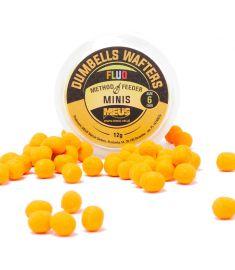 Dumbells Fluo Wafters 6mm Czekolada & Pomarańcza MINIS