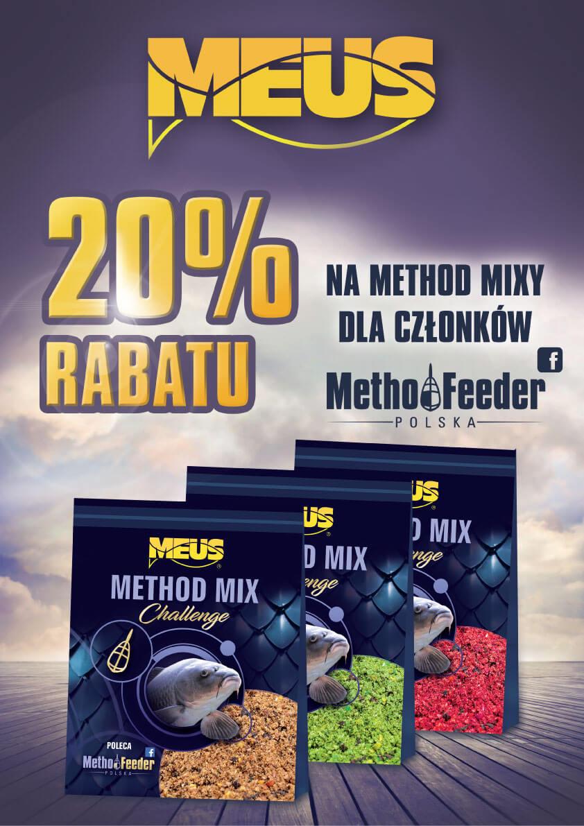 Promocja Meus - Method Feeder Polska